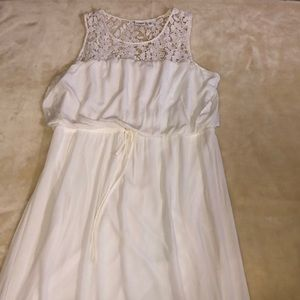 Cato Lace Top Maxi Dress. Size